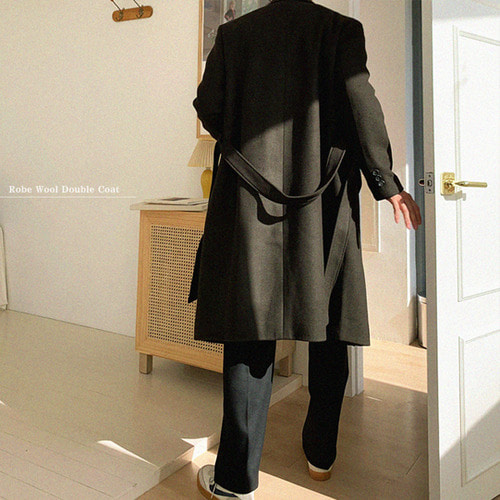 Robe Wool Double Coat(5color)